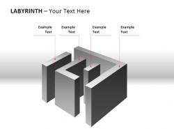 四部分介绍立体迷宫图示