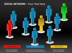社交网络的六度分离理论PPT下载