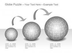 三部分介绍灰色地球拼图