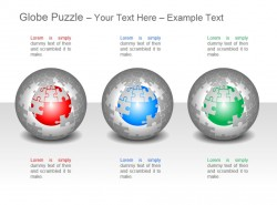 多彩地球拼图