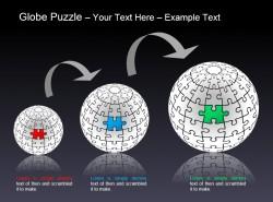 地球谜题之递进拼图说明