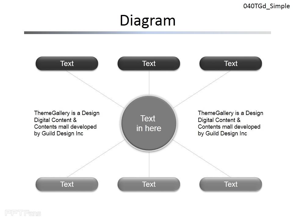 总分关系图示说明ppt素材下载_ppt设计教程网