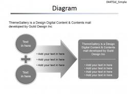 因果关系图示PPT模板下载 | PPT设计教程网