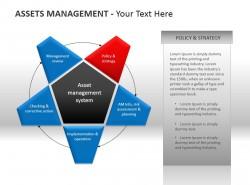 资产管理个性星星图PPT模板下载