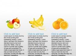 亚热带新鲜水果三插图PPT素材下载