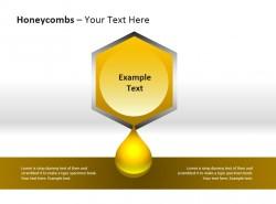 蜂蜜流出PPT模板下载