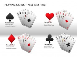 扑克牌PPT模板下载