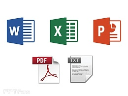 PPT转Word、PPT转PDF、PDF转Word、Word转PPT、Pdf转TXT的方法