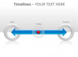 时间表之过去现在将来PPT模板下载