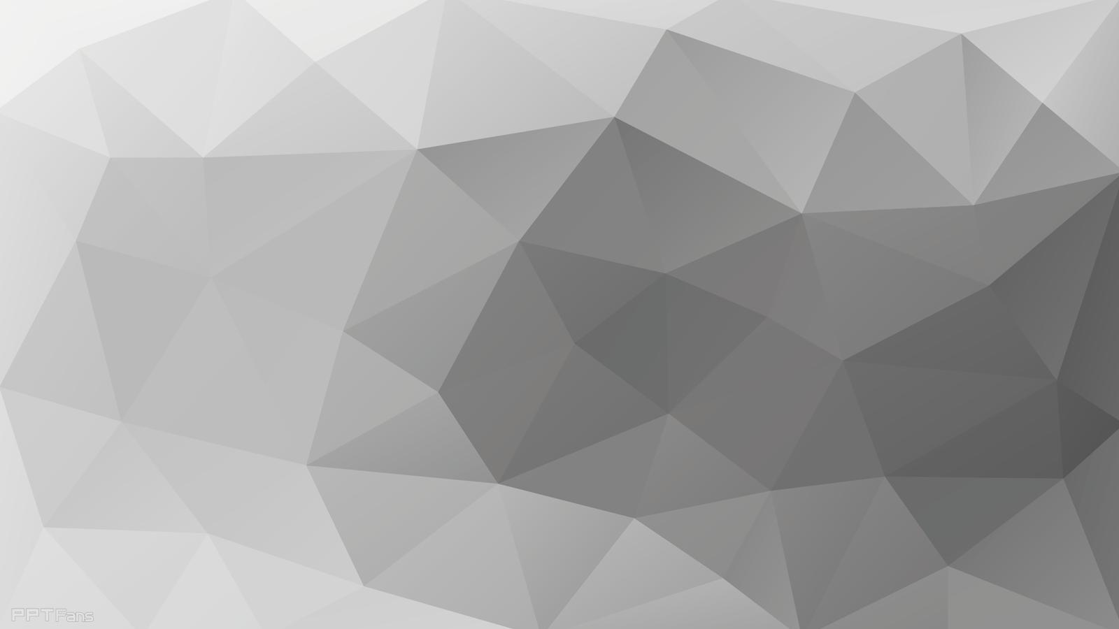 高清晰时尚低多边形ppt背景图打包分享(第八弹-26张)