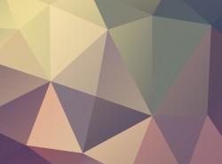 高清晰时尚低多边形PPT背景图打包分享(第二弹-7张)