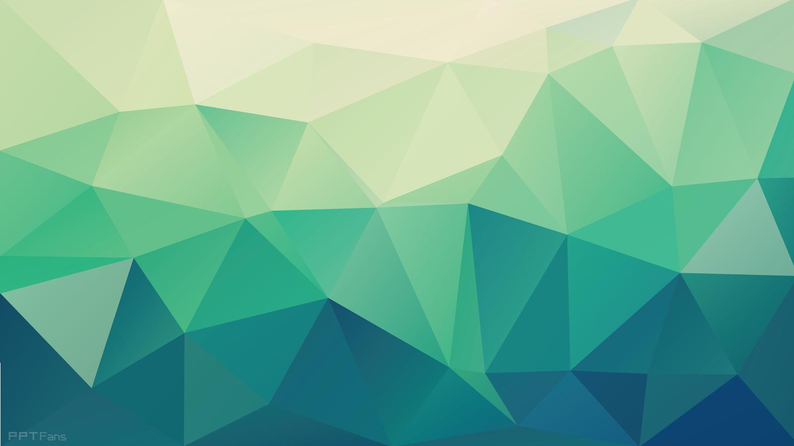 Wallpaper Unique 高清晰时尚低多边形ppt背景图打包分享(第四弹 26张) Ppt设计教程网