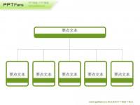 组织机构架构图ppt模板下载