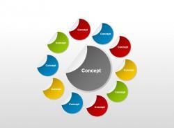 观念图之环形状PPT素材下载