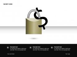 银行密码PPT素材下载