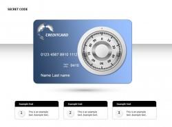 信用卡密码PPT素材下载