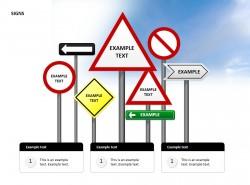 标志图PPT模板下载