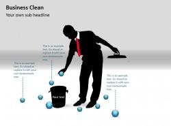 商业清洁之整理PPT素材下载