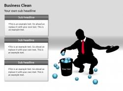 商业清洁之整合PPT素材下载
