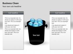 商业清洁之回收PPT素材下载