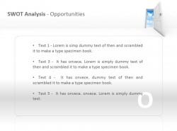 SWOT之机会分析PPT模板下载