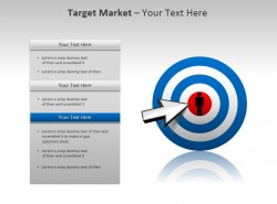 目标市场PPT模板下载