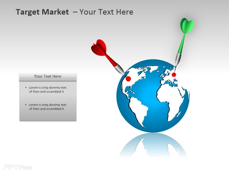 目标市场之定位ppt模板下载