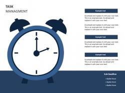 任务管理之时间PPT素材下载