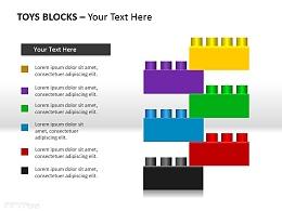 玩具块六部分说明PPT素材下载