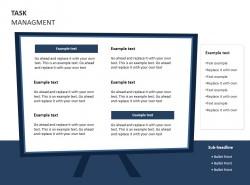任务管理之展示PPT素材下载