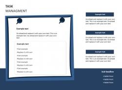 任务管理便利贴PPT素材下载