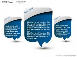 人物对话框PPT模板下载