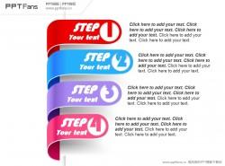 目录式彩条PPT模板下载