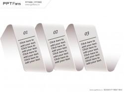 旋转卫生纸PPT模板