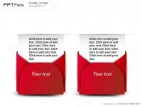 红色信封贺卡PPT模板