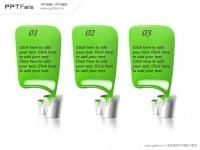 绿色油漆PPT模板