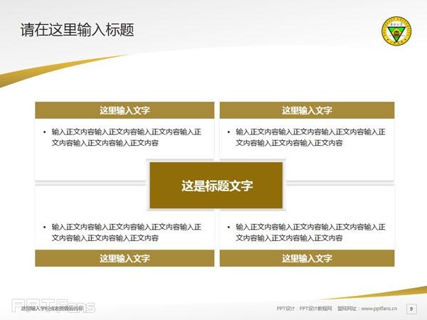 东南大学PPT模板下载_幻灯片预览图10