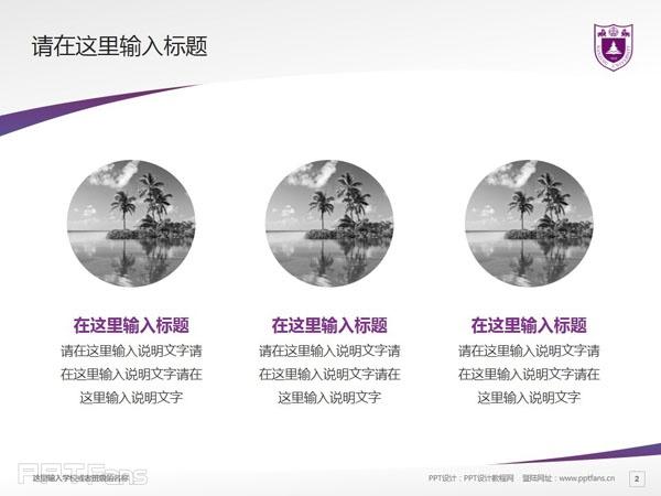 南京大学PPT模板下载_幻灯片预览图3