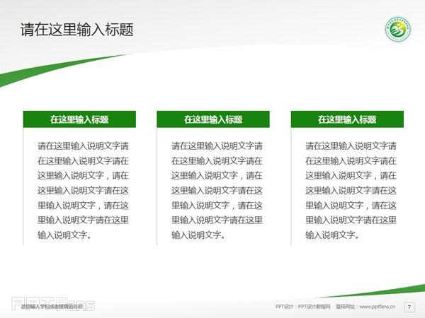 徐州幼儿师范高等专科学校PPT模板下载_幻灯片预览图8
