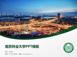 南京林业大学PPT模板下载