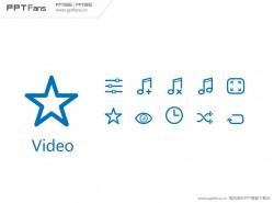 30个PPT视频图标素材打包下载03