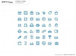 购物系列PPT可编辑图标下载_004