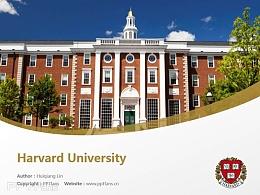 Harvard University powerpoint template download   哈佛大學PPT模板下載