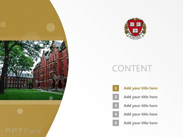 harvard university powerpoint template download 哈佛大学ppt模板下载