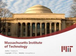 Massachusetts Institute of Technology powerpoint template download | 麻省理工学院PPT模板下载