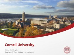 Cornell University powerpoint template download | 康奈尔大学PPT模板下载