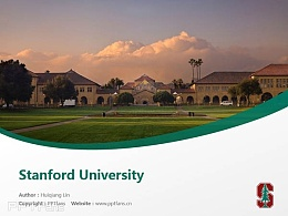 Stanford University powerpoint template download | 斯坦福大学PPT模板下载