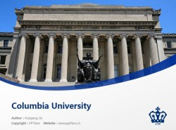 Columbia University powerpoint template download | 哥伦比亚大学PPT模板下载