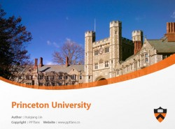 Princeton University powerpoint template download | 普林斯顿大学PPT模板下载