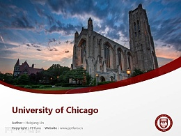 University of Chicago powerpoint template download | 芝加哥大学PPT模板下载